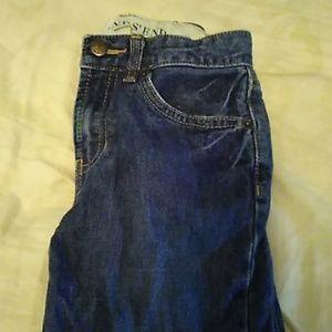 Land's End size 7 boys blue jeans